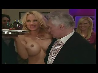 Pamela anderson nude hefner birthday uncensored