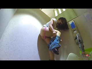Mahiro prank video at toilet