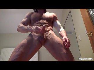 Hot ripped webcam guy