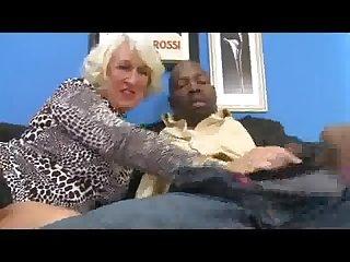 Hot granny and bbc