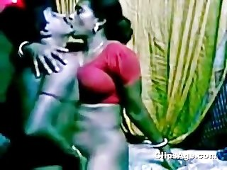 Southindian cute servant aunty fucking her boss while his wife non availe