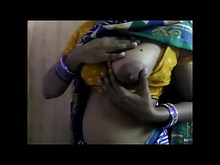 Indian bold Mallu maid big boobs and pussy touched by me