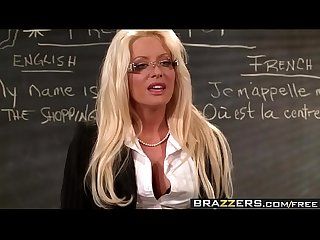 Brazzers big tits at School no cock left behind scene starring helly mae hellfire and ramon