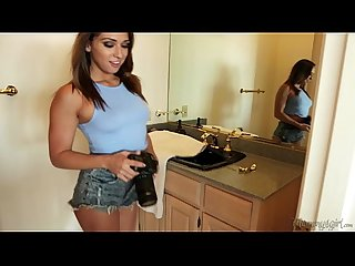 New step mom mercedes carrera and her kinky daughters