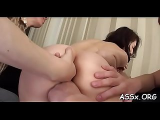 Wet oriental blowjob after sexy anal