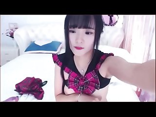 Cute Asian Webcam Girl strips and masturbates with dildo full Video tubeorient com