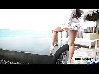 Maldives teasing gml sandals floating skirt c4all wmv