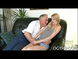Juvenile nympho licks old ding dong
