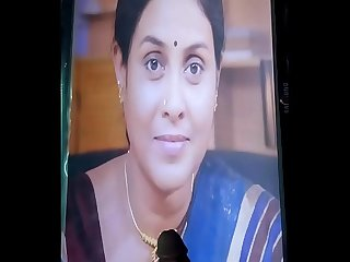 Saranya Aunty cums tribute