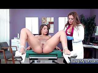 Hot Kinky Patient (Jasmeen Lefleur & Abella Danger) Seduced By Doctor Enjoy Sex..