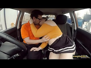 Bbw estella bathory banged by instructor