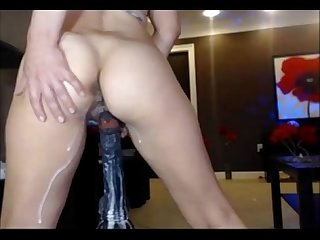 Huge Black Cock Cumming Inside Pussy - SuperJizzCams.com