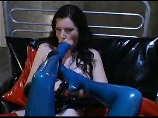 Lesbian foot deepthroat