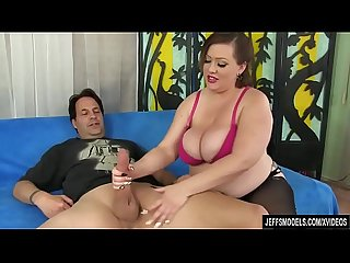 Bbw bunny de la cruz uses her big tits and fat belly to please A dude