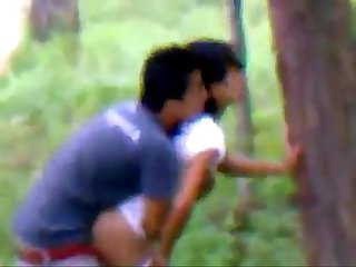 Indian college couple hot Romance in jungle