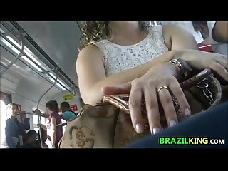 Upskirt of this brazilian chick in public