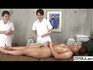 JAV lesbian massage clinic new hire training day Subtitles