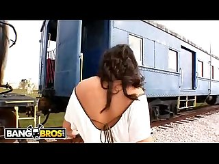 Bangbros cum and ride the Train with Charley chase oldschool