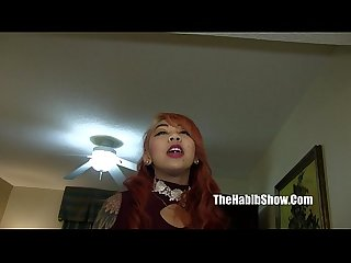 Lil Asian freak Kimberly Chi gangbanged by big cock macana man and mr burns