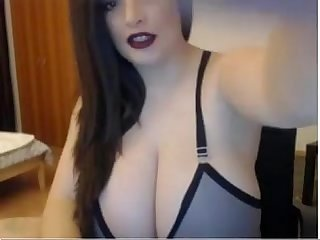 Big curvy bbw brunette cam show live on www period freeslutscam period com
