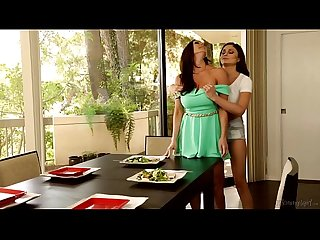 Mommy and daughter almost caught ariana marie and kendra lust