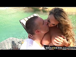 Brazzers Mommy got boobs two milfs one cock scene starring diamond foxxx holly halston and keira