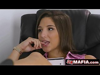 Office Chick Abella Danger Fucking Local Janitor After Working Late