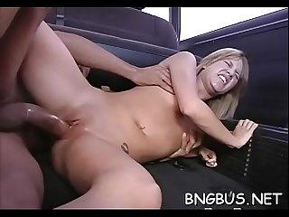 Free porn gangbang bus