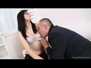Alla takes her teacher s cock very deep