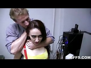 Nerdy girls fucked