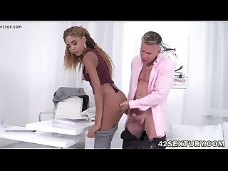 Luna Corazon takes cocks up to her holes - DiamondCox.com