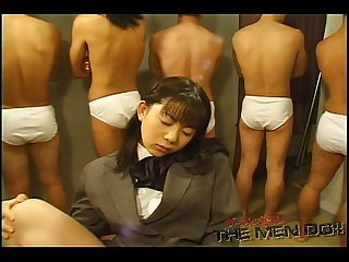 Bukkake Highschool Lesson 11 1/4 Japanese uncensored blowjob